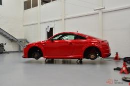 Тормоза Brembo на Audi TT