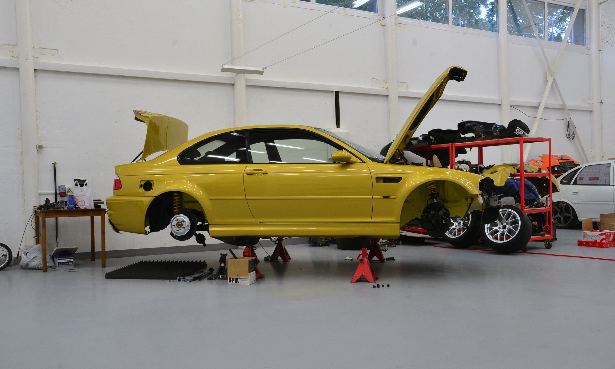 Подготовка BMW M3 в slon workshop