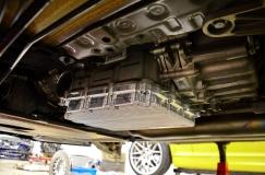 Поддон DCT на автомобиле не аннодированый